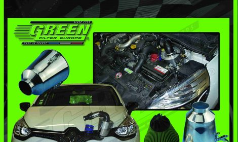 THE SPEED'R GREEN FILTER EUROPE FOR RENAULT CLIO 4 RS